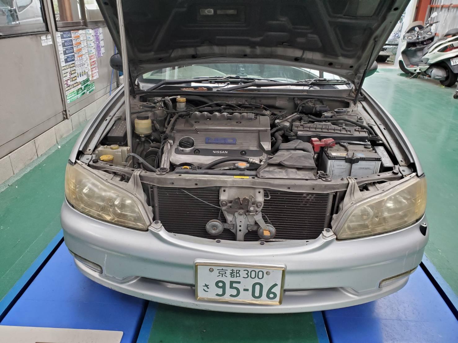 ニッサン セフィーロ 平成11年式 新車から21年目 車検今回最後! 366929Km