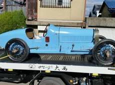クラッシックカー 博物館級 ブッガティー かなり前の競技車輌 90年オーバー